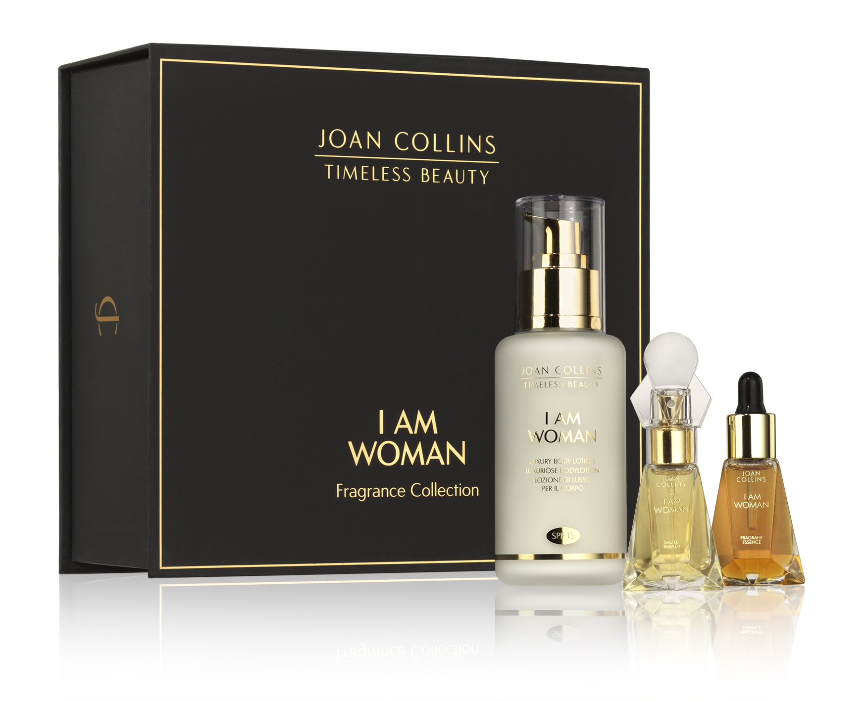 Joan Collins I AM WOMAN, Fragrance Gift Set, £45