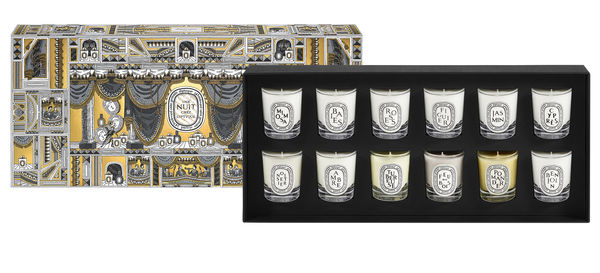 Diptyque 12 mini candle set 0